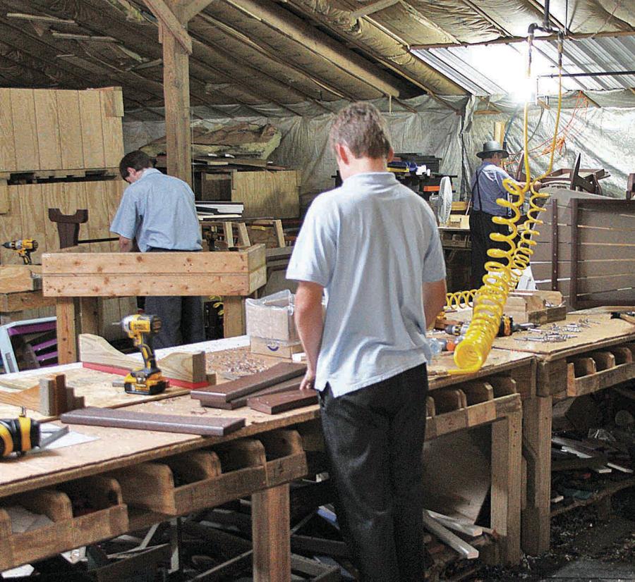 Manufacturing of Poly Lumber Furniture